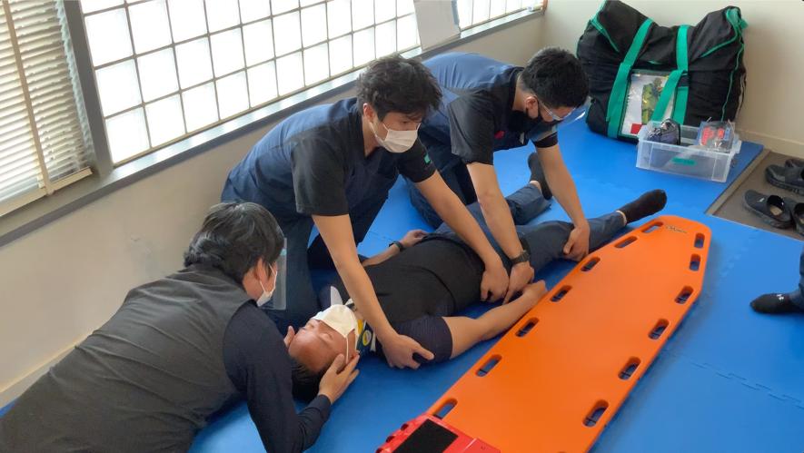 クライアントの安全を守る救急処置研修を行いました